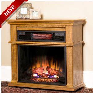 duraflame infrared heater with electric fireplace