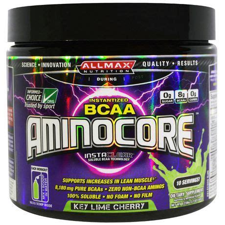 Suplemen Allmax allmax aminocore key lime cherry supplement powder