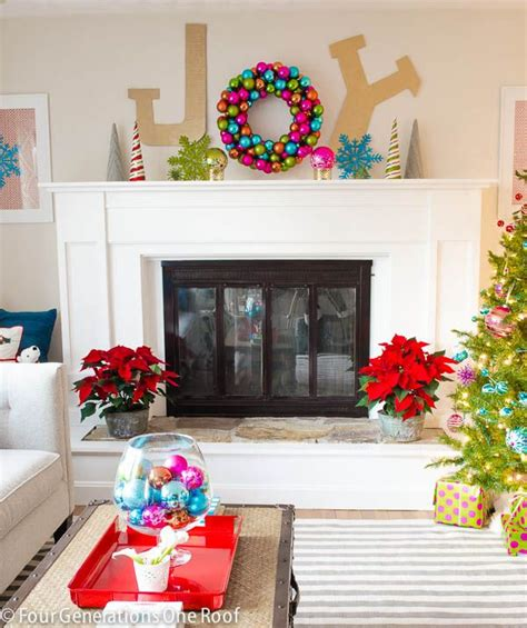 25 best ideas about bright christmas decorations on