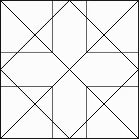 printable quilt block coloring pages pattern coloring pages