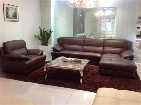 simple leather sofa sets modern stylish white color genuine cow leather