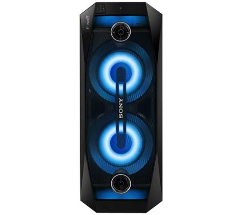 Sony Gtk X1bt Wireless Hi Fi Bluetooth Speaker 500w Ex Display Gosend buy sony gtk x1bt wireless megasound hi fi system usb connector free delivery currys
