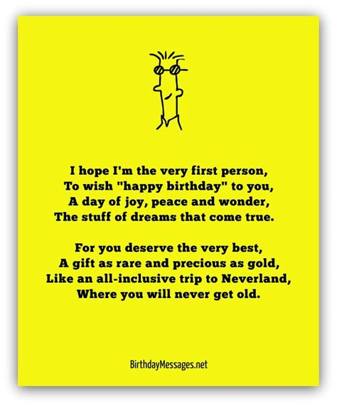 Happy Birthday Poems From by Happy Birthday Poems Happy Birthday Messages