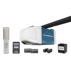 chamberlain myq 1 25 hp smartphone controlled wi fi garage