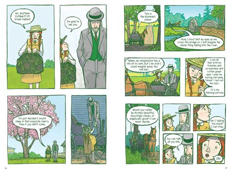 of green gables a graphic novel graphic novels a book a day