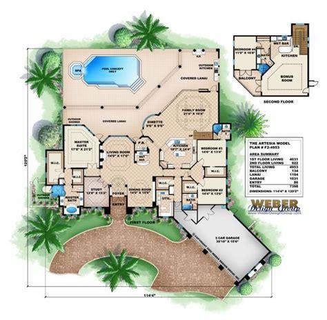 mediterranean home floor plans 17 best ideas about mediterranean house plans on