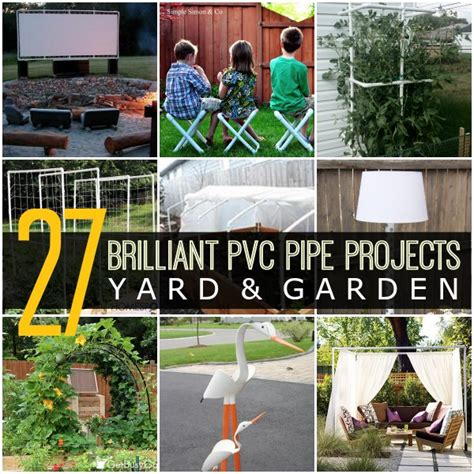 pvc crafts projects 27 brilliant pvc pipe projects for your yard garden