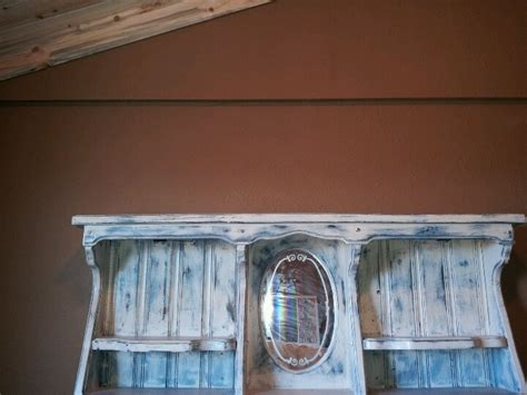 Waterbed Headboard by Painted Headboard From Waterbed Frame Lake House