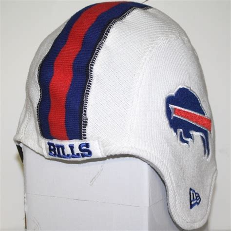 buffalo bills knit hat buffalo bills new era pigskin helmet knit hat
