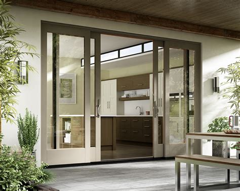 Patio Door Essence Series 174 Wood Doors Milgard Windows Doors