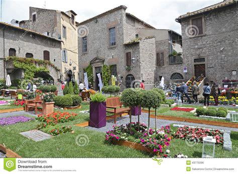 Italian Decorations For Home Exhibition San Pellegrino In Fiore In Viterbo Italy