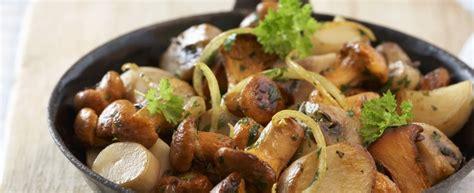 come cucinare i funghi chignon in padella ricetta funghi in padella agrodolce