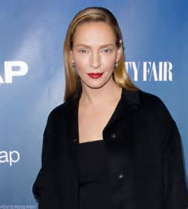 Before amp after uma thurman sparks plastic surgery speculation with new