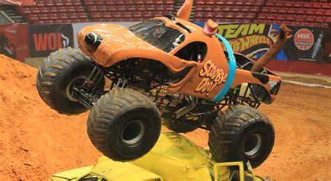 monster jam dog truck this badass female monster truck driver does backflips in