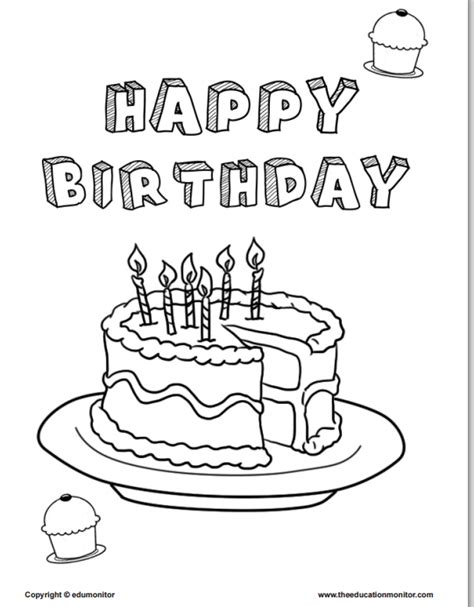 second birthday coloring pages 2nd birthday coloring pages