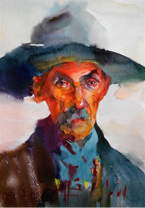 amazing watercolor portraits  tatsiana zayats art