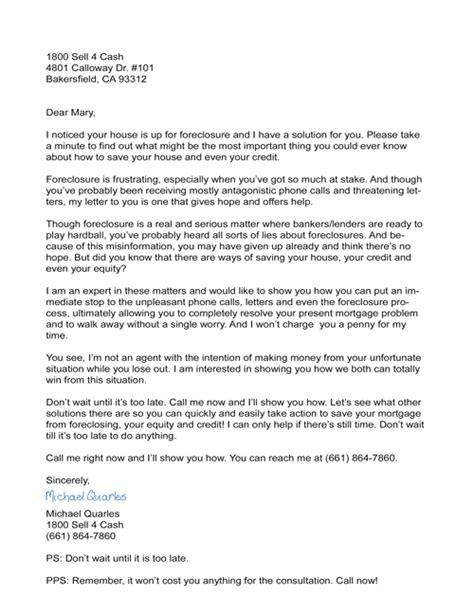letter to owner sle foreclosure letter to owner docoments ojazlink