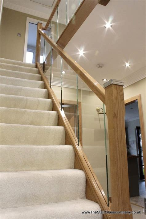 Wood And Glass Banister by Wooden Staircases Cheshire Stair Glass