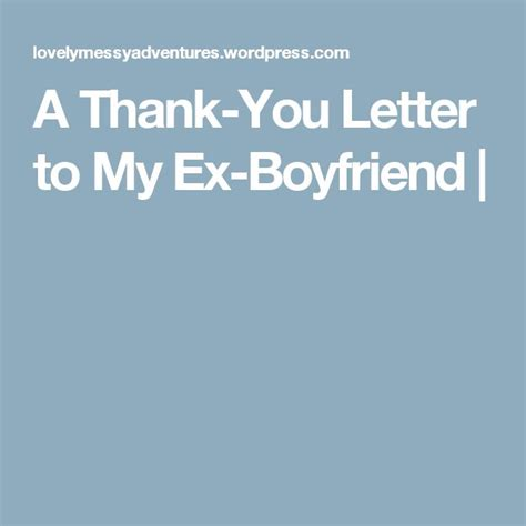 appreciation letter to ex boyfriend 30 best family gift ideas images on creative