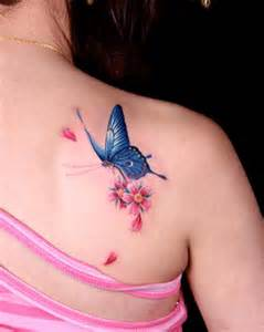 free tattoo designs butterfly tattoo design on the back