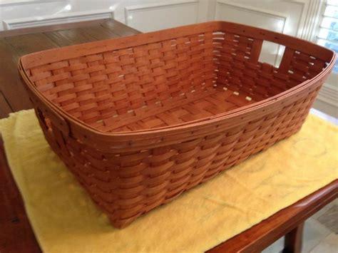 longaberger laundry longaberger large hostess laundry basket 1989