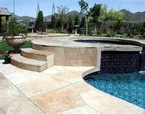 flagstone pool deck coatings and repair az creative surfaces 480 582 9191