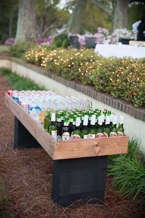 Diy Backyard Wedding Ideas by 15 Creative Ways To Serve Drinks For Outdoor Wedding Ideas