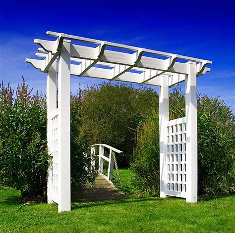 vinyl arbors and pergolas garden vinyl jewelry welcome to day fence