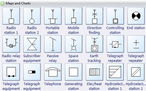 Design Blueprints Online For Free by Map And Chart Symbols