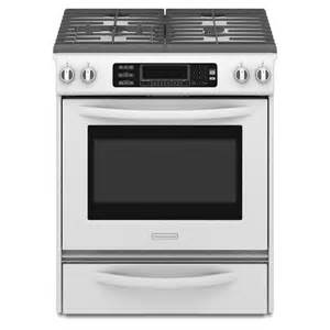 kitchenaid kgss907swh 4 1 cu ft self cleaning slide