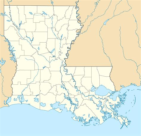 louisiana map rivers blank map of america quiz