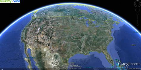 earth maps view usa united states map and united states satellite image