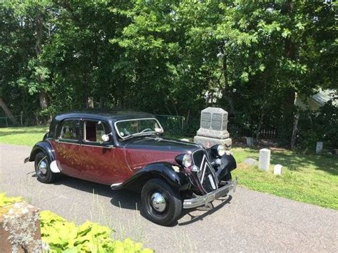 Citroen Traction Avant For Sale by 1954 Citroen Traction Avant For Sale 1974649 Hemmings