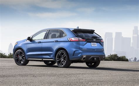 2019 Ford Edge by 2019 Ford Edge St Revealed As Proper Performance Variant