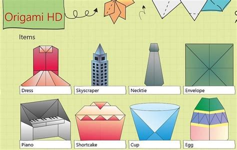 origami app make origami on your windows 8 10 tablet with origami hd