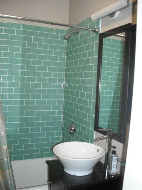 aqua glass tile bathrooms aqua glass subway tile aqua glass the o jays and chic