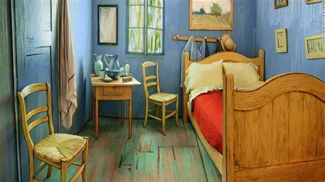 gogh s bedroom is available on airbnb cnn