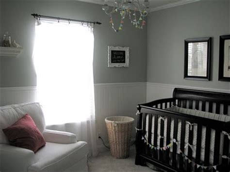 baby nursery silver paint color design dazzle