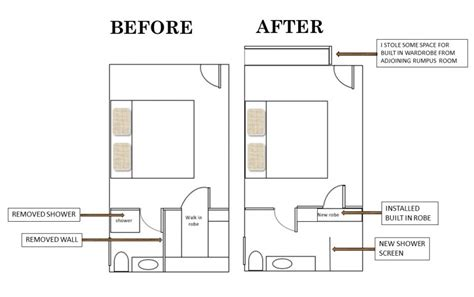 Ensuite Bathroom Floor Plans | lyndie s ensuite bathroom makeover