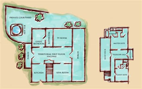 Territorial Style House Plans by 404 Not Found