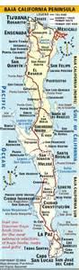 map of california and baja california baja california map discover baja travel club