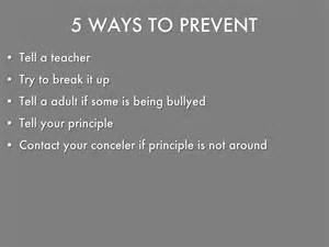 7 Ways To Avoid A At The End Of A Date by Stop Bullying By 18rearzd