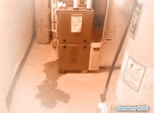 central air conditioner leaking water basement furnace leaking humidifier leaking condensate leak