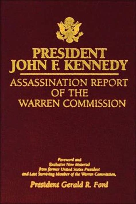 warren report book president f kennedy assassination report of the
