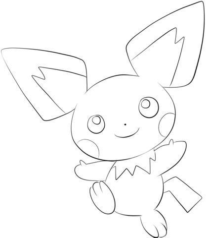 pokemon coloring pages fletchling kolorowanka pikachu kolorowanki dla dzieci do druku