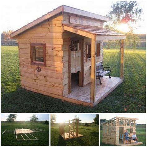 pallet play house wood pallet playhouses for kids pallet wood projects