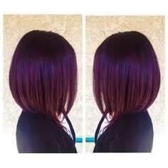 plum burgyndy bob hairstyle plum burgundy hair using pravana vivids 1 tube violet 1