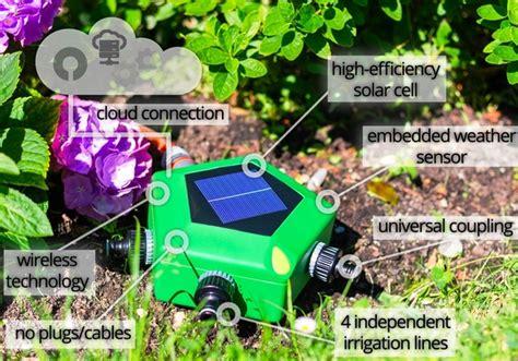 lioni da giardino ad energia solare irrigatore da giardino smart ad energia solare si
