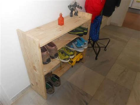 How Does A Rack Of Take To Cook by Diy Pallet Shoe Rack