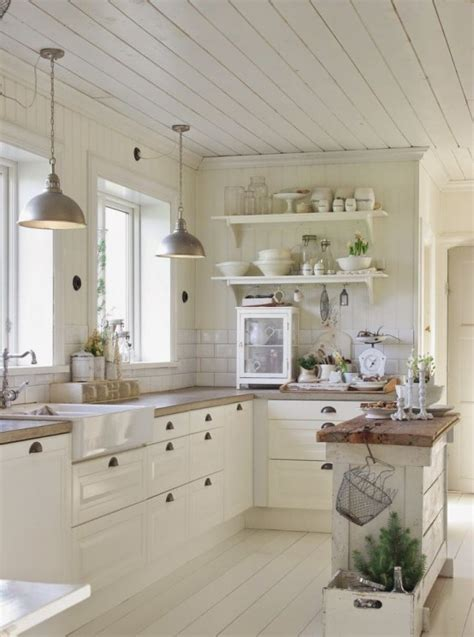 kitchen island farmhouse 35 cozy and chic farmhouse kitchen d 233 cor ideas digsdigs